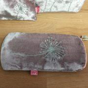 Large Pink Dandelion Makeup Bag   Paprika Gifts 274688cddc