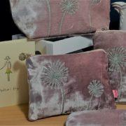 Small Pink Dandelion Makeup Bag   Paprika Gifts fa09afe3d9